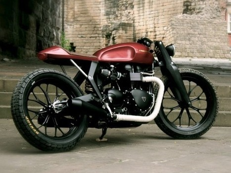 Students Redesign The Triumph Bonneville | FASHION & LIFESTYLE! | Scoop.it