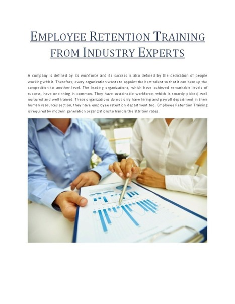 Employee Retention Training from Industry Experts   Information Scoop   Scoop.it