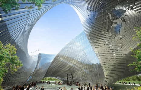 Mobius Strip Building Brings Loops And Bling To Taiwan - Explore, Collect and Source architecture & interiors | marked for sharing | Scoop.it