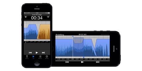 Conoce esta  grabadora digital que te permitirá editar audios en tu móvil | El rincón de mferna | Scoop.it
