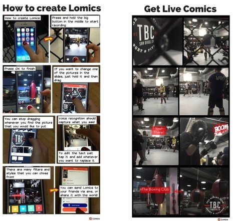 Lomics – The Digital Storytelling App Turning Video into Comics | iPads in High School | Scoop.it