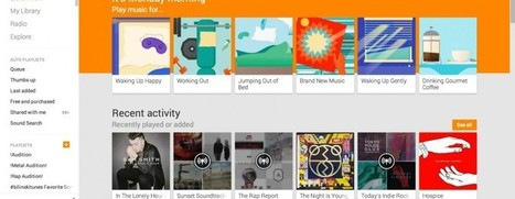 Google Play Music now has an amazing visualizer | Developing Apps | Scoop.it