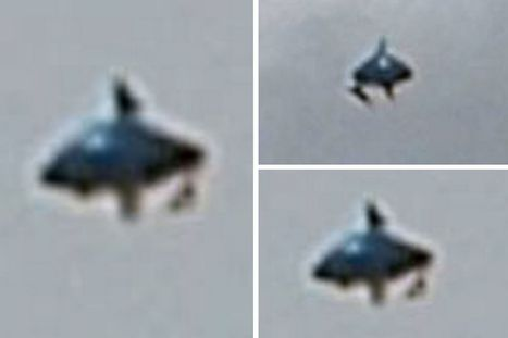 Is this a UFO flying over London? Bizarre 'rotating' object pictured over the ... - Mirror.co.uk | E.A.P.I. | Scoop.it