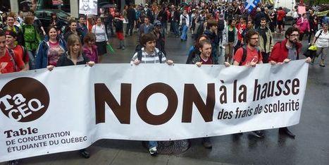 Le monde:Marée humaine à Montréal en soutien au conflit étudiant   #marchedesbanlieues -> #occupynnocents   Scoop.it