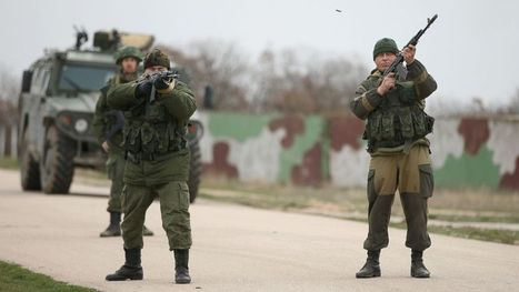 Ukrainian Troops Stare Down Russian Forces | Americans for Political Change | Scoop.it