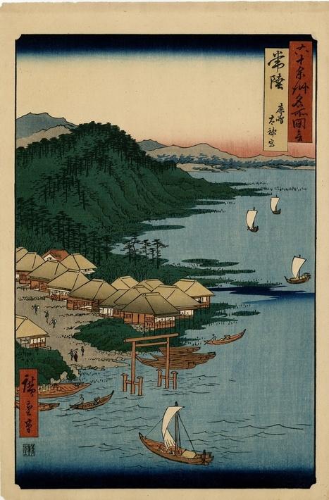 vends estampes Hiroshige : série des 60 provinces de 1920 - paris-vente-veritables-estampes-objets-art-japon.overblog.com | estampes japonaises | Scoop.it