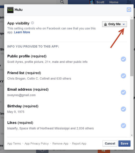 WARNING: Here's How to Remove Facebook Apps (that Might be Spying on You) | Indoor Rowing | Scoop.it