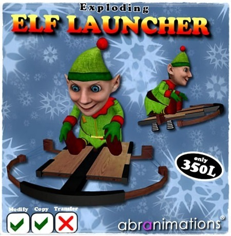 2nd Christmas Gift From Abranimations 2016 | Second Life Freebies and bargains | Scoop.it