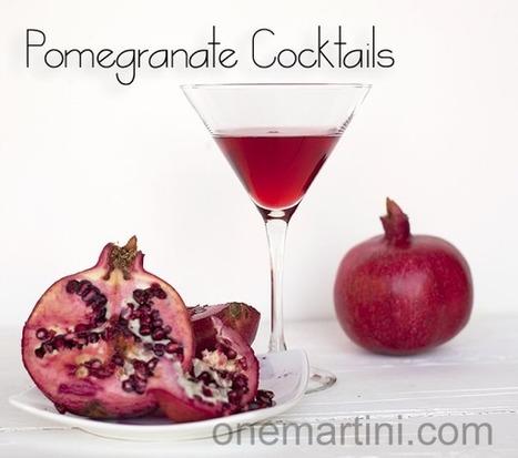 #DrinkRecipe / Pomegranate Cocktails | Hospitality | Scoop.it