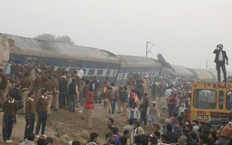 Indore-Patna express train derails in Kanpur: 96 killed, over 100 injured - Times of India | History | Scoop.it