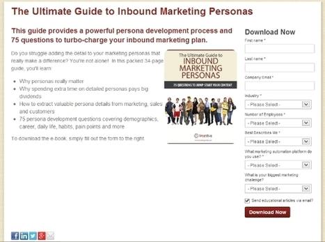 Content Marketing Blog - Inbound Marketing - Hubspot Marketing | Institut de l'Inbound Marketing | Scoop.it