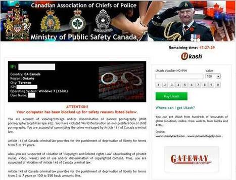 How to Remove Ministry of Public Safety Canada – Ransomware Removal | Help Remove Spyware and Viruses | Scoop.it