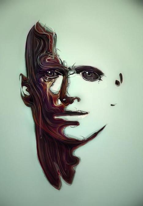 Vector Faces by Jeremy Young   Cuded   Digital-News on Scoop.it today   Scoop.it