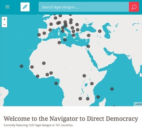 A New Tool Features Modern Direct Democracy Around the World | Citizen participation in Europe | Scoop.it