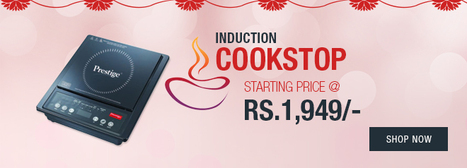 Top induction cooktops start price @ Rs.- 1,949/- | Online Shopping | Scoop.it
