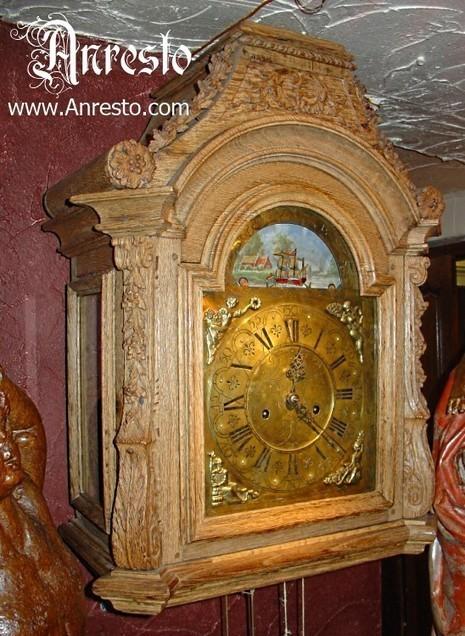 Anresto antieke Antwerpse kap klok 18de eeuws Louis XVI | Antiek Antique | Scoop.it