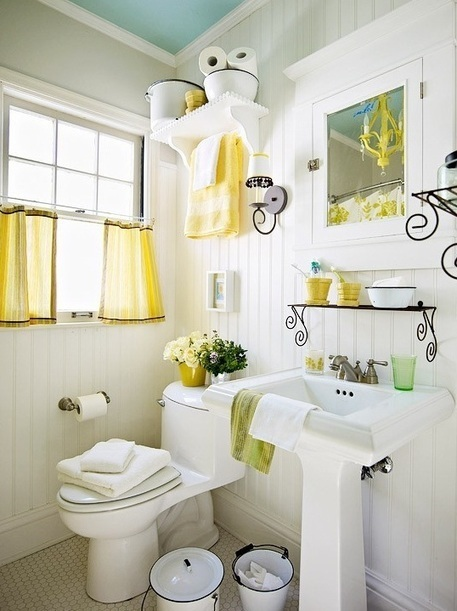 Decorating a bathroom with a beach theme | Home Decor Ideas | Decorating Tips and Tricks | Scoop.it