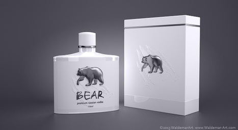 Creative Package Design : Premium Vodka BEAR   Art, Design & Technology   Scoop.it