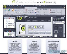 openElement : un logiciel gratuit pour créer facilement son site internet | Les bons plans de la petite entreprise | Scoop.it