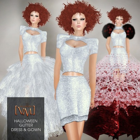 Glitter Dress And Gown - NessMarket | 亗 Second Life Freebies Addiction & More 亗 | Scoop.it