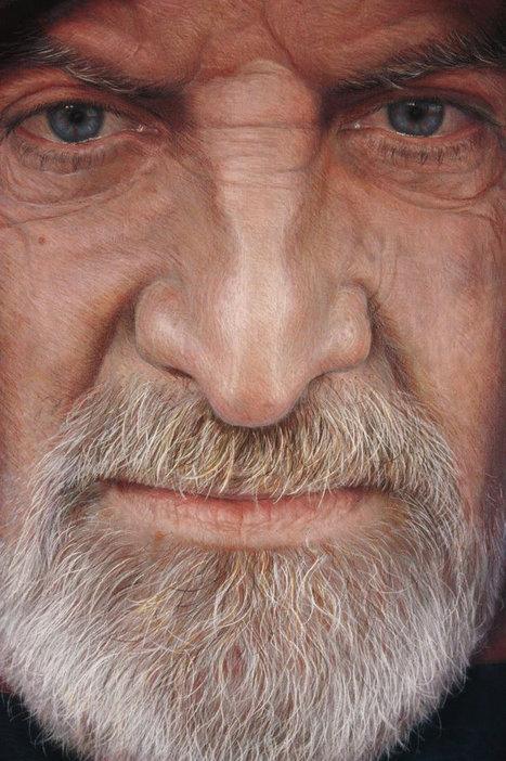 Ultra-Realistic Portrait Paintings by Rubén Belloso | Art | Scoop.it