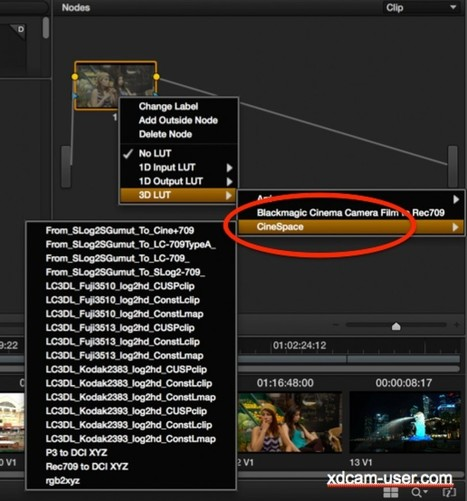 Using the BlackMagic HDLink to provide LUT's and c... - Sony Community | On-Set Postproduction | Scoop.it