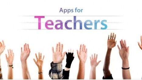 Apple launch new iPad 'Apps for Teachers' section - Mark Anderson's Blog | Apps for Anything | Scoop.it
