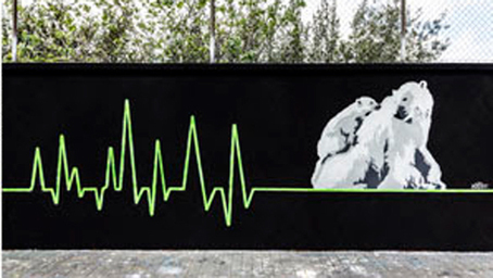 Stunning street art aims to 'Save the Arctic' | The Arts and Sustainability | Scoop.it