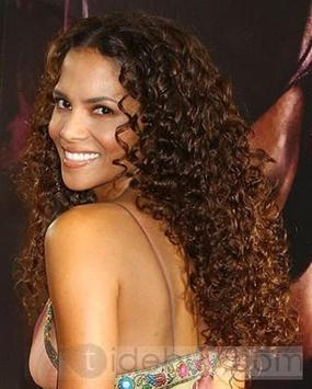 Custom Halle Berry Hairstyle Hot Sale Long Curly Brown about 18 Inches Lace Wig | cosplay | Scoop.it