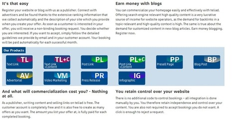 Teliad Review: Get Your Blog Monetization Going | Digital Publishing | Scoop.it