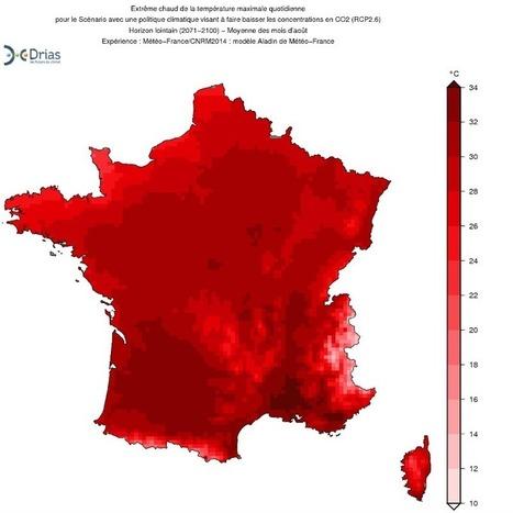 Vous trouvez qu'il fait chaud? Attendez de voir les cartes météo de 2096 | Planete DDurable | Scoop.it