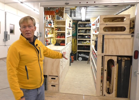 An Amazing Portable Woodshop | Woodworking, CNC, 3D Printing & Construction | Scoop.it
