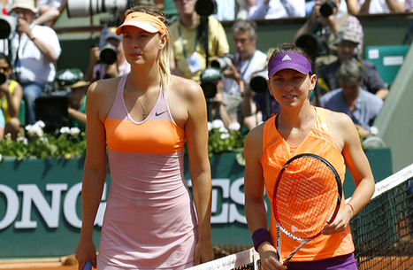 Maria Sharapova outlasts Simona Halep to win her second French Open title - SI.com   TENNIS 2014   Scoop.it