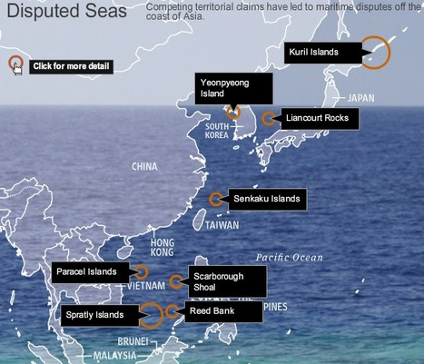 Disputed Isles: Tensions Chine/Japon | Histoire geo Terminale (programmes 2012) | Scoop.it