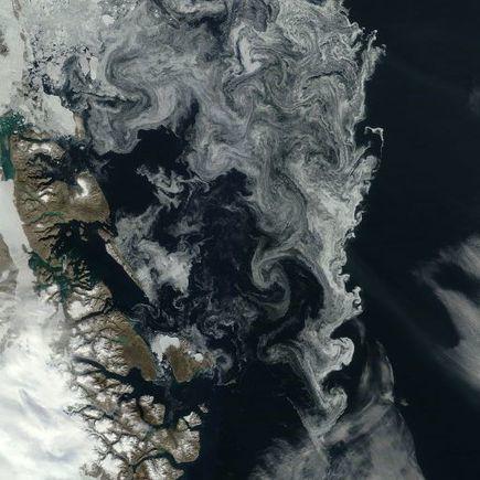 volutes de #banquise arctic.io - Daily Satellite Images + Observations, 7-N76.92-W10.73 | Hurtigruten Arctique Antarctique | Scoop.it