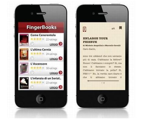 FingerBooks: i mini eBook da sfogliare sullo smartphone | Diventa editore di te stesso | Scoop.it