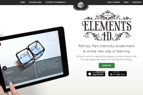 Elements 4D | UKEdChat - Supporting the Education Community | Chemistry CC | Scoop.it