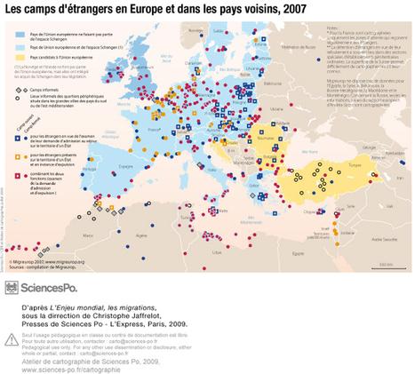 Camps d'étrangers en Europe et dans les pays voisins - 2007 | Europe Centrale | Scoop.it