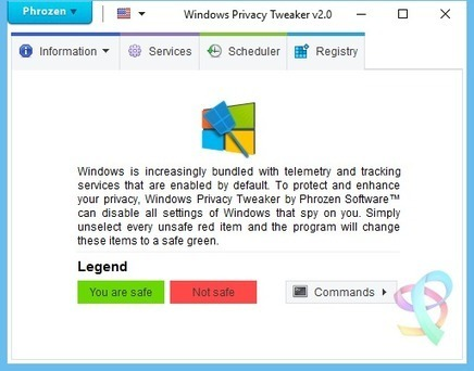 Windows Privacy Tweaker - Phrozen Software [Windows 10] | Ciberseguridad + Inteligencia | Scoop.it