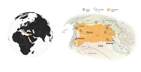 Ungoverned-World Map of Refugees, Terrorists, & War - Bloomberg | OSINT daily | Scoop.it