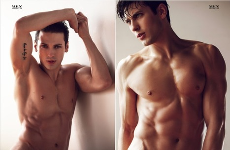 THE HANDSOME ALEXANDR POZHAR BY BRENT CHUA FOR MEN MOMENTS | THEHUNKFORM.NET | Scoop.it