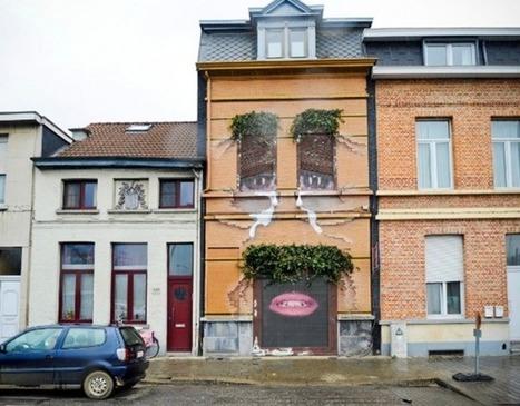 Maison en larmes | streetmarketing | Scoop.it