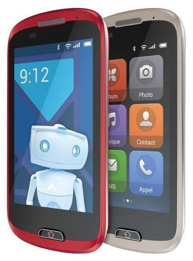 Haier au petit soin avec les seniors et son smartphone E-ZY A6   Seniors   Scoop.it