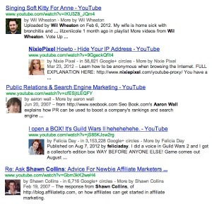 Author Rich Snippets for YouTube Video Content | Online Marketing Resources | Scoop.it