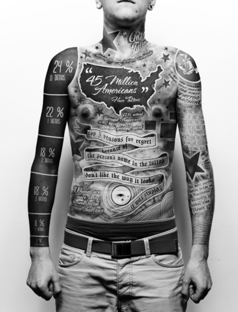A tattoo infographic (tatfographic?) about tattoos. | Social Storytelling | Scoop.it