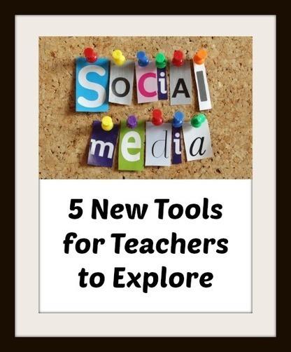 5 New Social Media Tools to Explore | Edtech PK-12 | Scoop.it