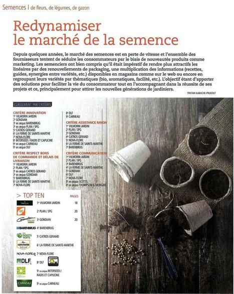 REDYNAMISER LE MARCHÉ DE LA SEMENCE - JARDINERIE - 21 JUIN 2016 | Revue de presse Nova-Flore | Scoop.it
