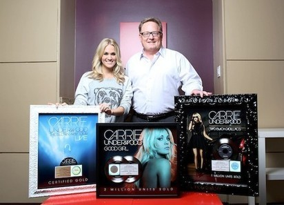 Carrie Underwood earns gold and platinum sales plaques in New York City - Examiner.com | Antiques | Scoop.it