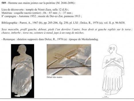 Les incrustations figurées de Mari (Syrie, IIIe millénaire av. J.-C ... | Découvertes archéologiques | Scoop.it