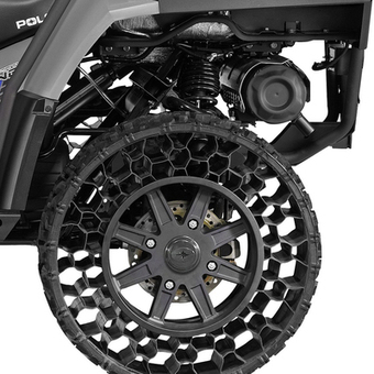 Non-Pneumatic Tires Finally Hit the Commercial Sector. Will Polaris Roll Over the Competition? | SNS Marketing | Scoop.it